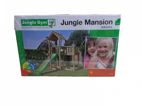 Selbstbaukit Spielturm Mansion