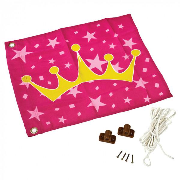 Prinzessinnenfahne mit Hisssystem
