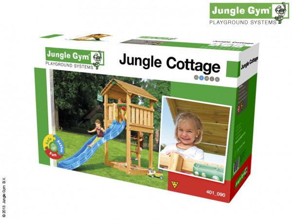 Selbstbaukit Spielturm Cottage