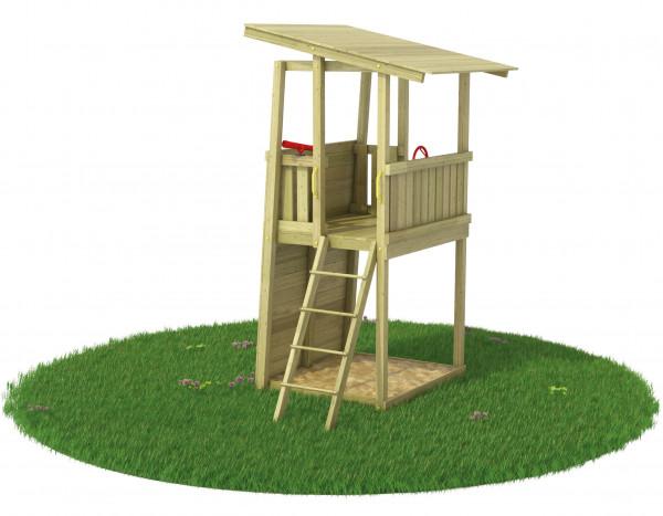 Spielturm Bunker